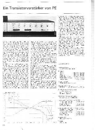Ein Transistorverstärker von PE