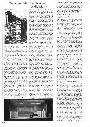 Carnegie Hall: Ein Denkmal für die Musik