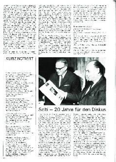 Solti — 20 Jahre für den Diskus