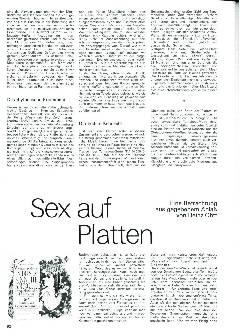 Sex auf Platten