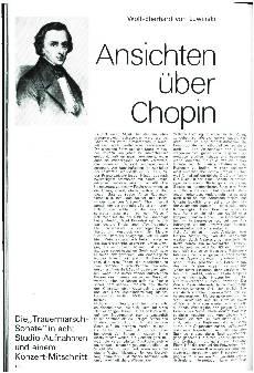 Ansichten über Chopin