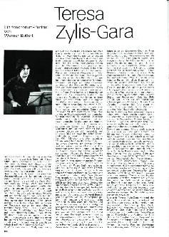 Teresa Zylis-Gara
