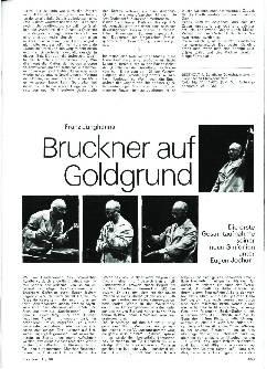 Bruckner auf Goldgrund