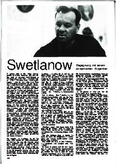 Swetlanow