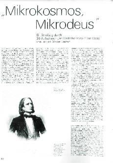 Mikrokosmos, Mikrodeus