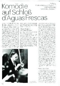 Komödie auf Schloss d'Aguas Frescas