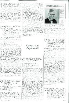 Klavier- und Orgelmusik