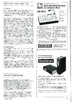 Technische Meldungen