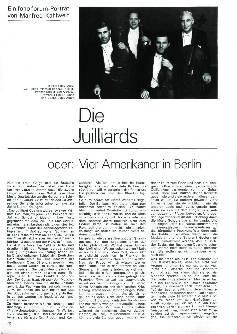 Die Juilliards