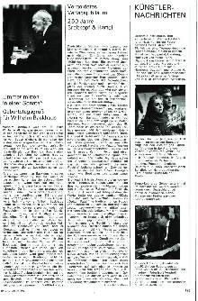 Künster-Nachrichten