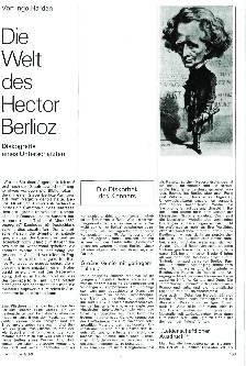 Die Welt des Hector Berlioz
