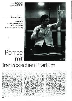 Romeo mit französischem Parfum