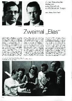 Zweimal Elias
