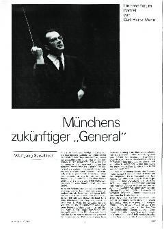 Münchens zukünftiger General