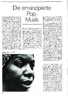Die emanzipierte Pop Musik