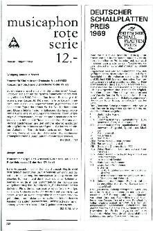 Deutscher Schallplattenpreis 1969