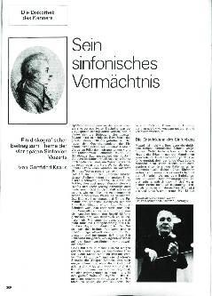 Sein sinfonisches Vermächtnis