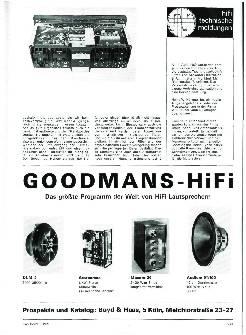 HiFi Technische Meldungen