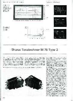 Shures Tonabnehmer M 75 Type 2