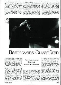 Beethovens Ouvertüren