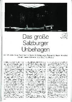 Das große Salzburger Unbehagen