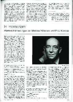 In Memoriam: Platten-Erinnerungen an Mathias Wieman und Fritz Kortner