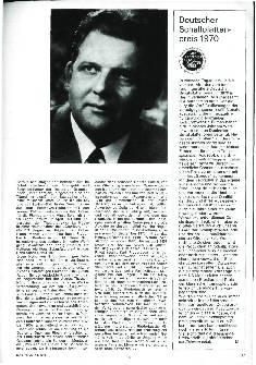 Deutscher Schallplattenpreis 1970