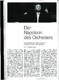 Der Napoleon des Orchesters