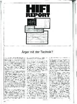 HiFi Report