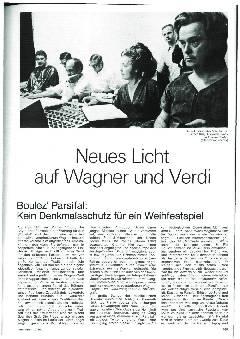 Neues Licht auf Wagner und Verdi