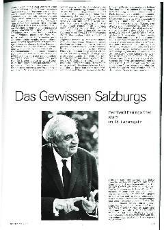 Das Gewissen Salzburgs