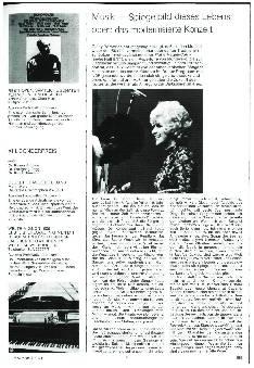 Musik - Spiegelbild dieses Lebens oder: das modernisierte Konzert