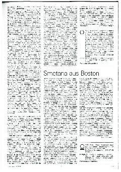 Smetana aus Boston