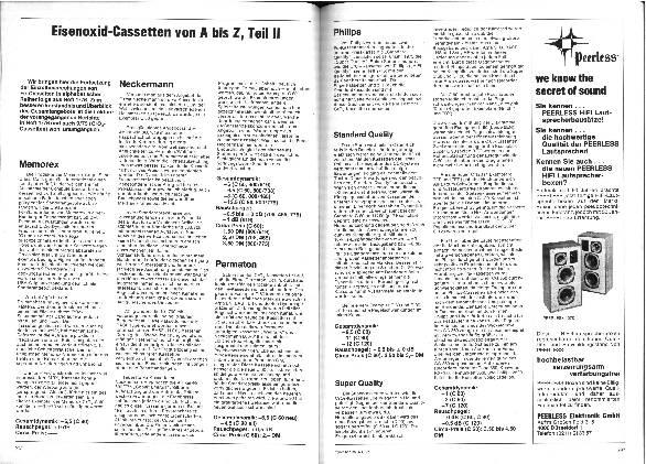 Eisenoxid-Kassetten von A bis Z (Teil II)