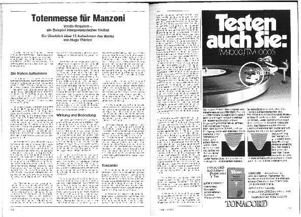 Totenmesse für Manzoni