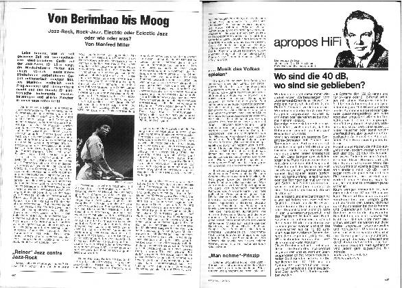 Von Berimbao bis Moog