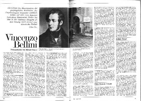 Vincenzo Bellini - Diskografisches