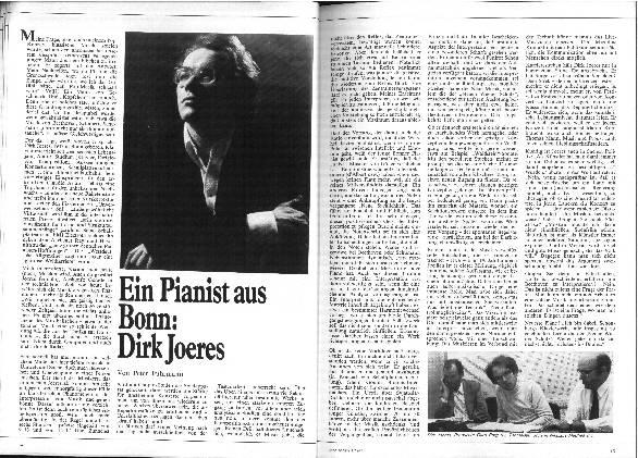 Ein Pianist aus Bonn: Dirk Joeres