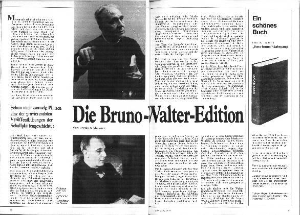 Die Bruno-Walter-Edition