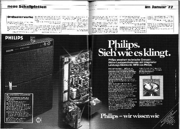 Neue Schallplatten im Januar '77