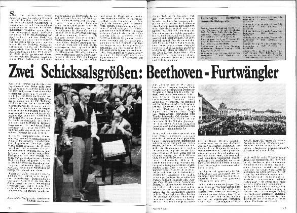 Zwei Schicksalsgrößen: Beethoven - Furtwängler