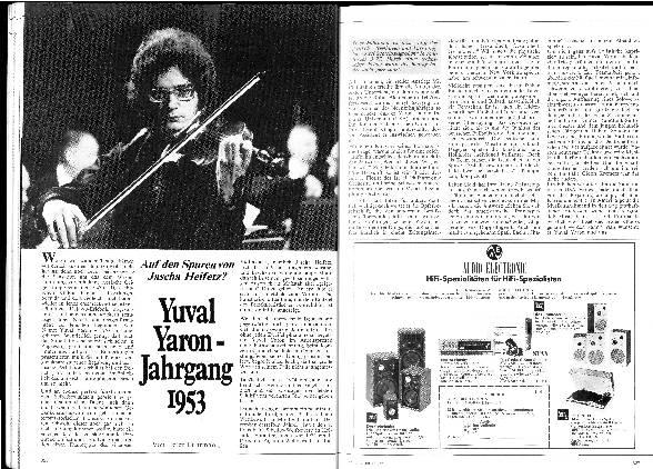 Yuval Yaron - Jahrgang 1953