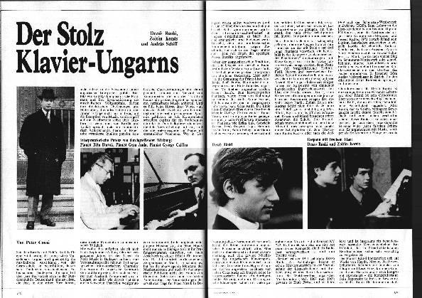 Der Stolz Klavier-Ungarns
