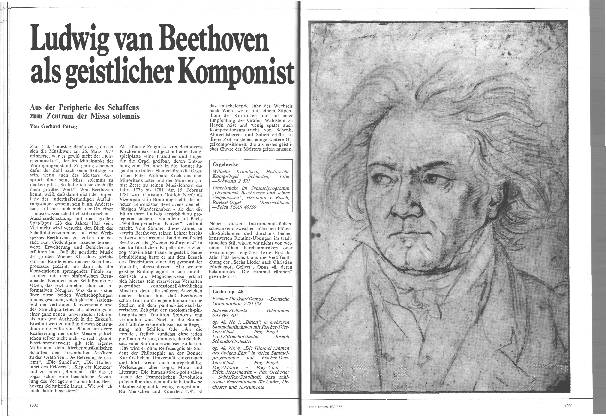 Ludwig van Beethoven als geistlicher Komponist