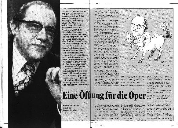 Eine Öffnung der Oper