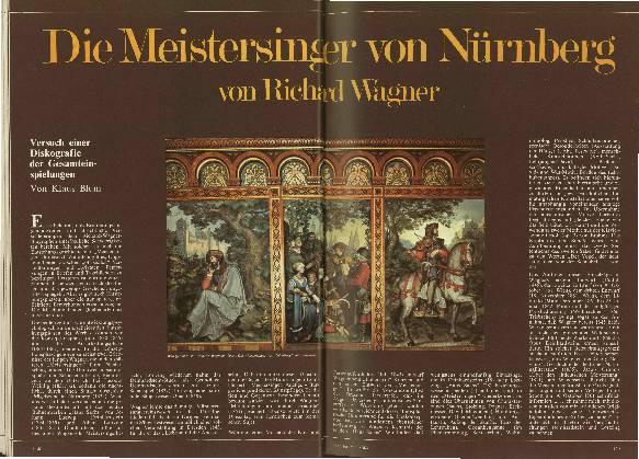 Die Meistersinger von Nürnberg von Richard Wagner