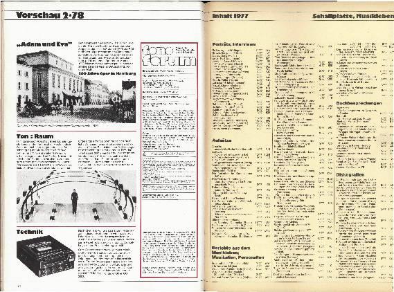 Inhalt 1977