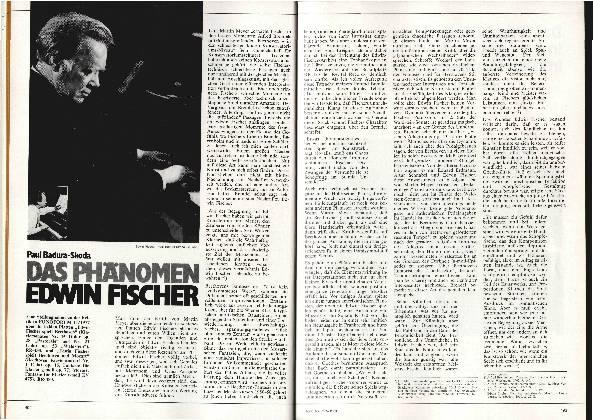 Das Phänomen Edwin Fischer