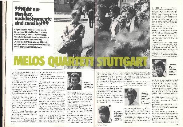 Melos Quartett Stuttgart