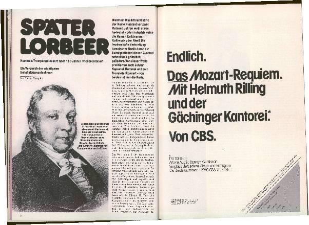 Später Lorbeer